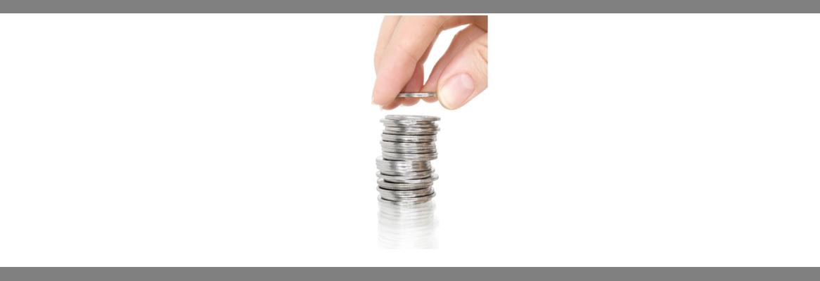 Coin pile - Shuttertock image